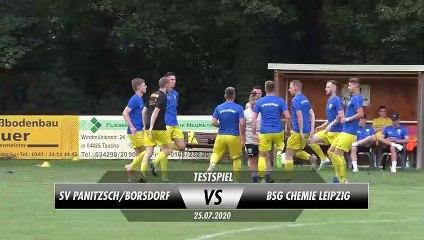 SV Panitzsch/Borsdorf - BSG Chemie Leipzig (Testspiel)