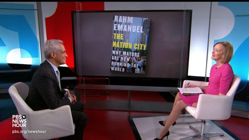 "Rahm Emanuel, Author Of ""The Nation City"""