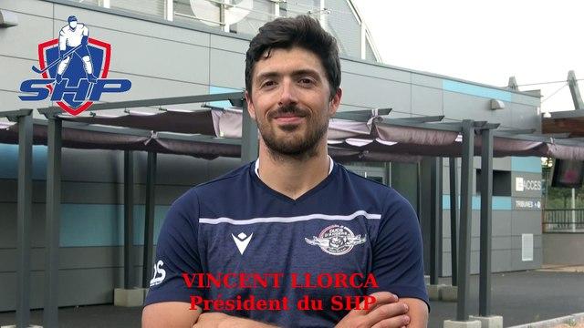 Hockey sur glace Interview Vincent Llorca Président du SHP - Clermont-Ferrand 2020-06-25