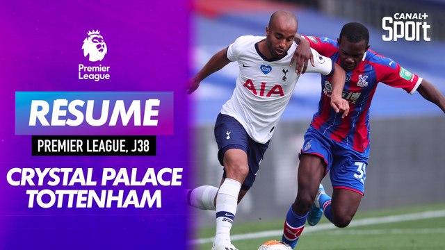 Le résumé de Crystal Palace / Tottenham