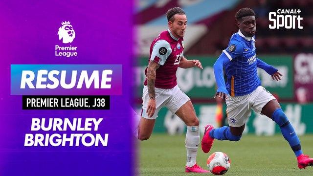 Les buts de Burnley / Brighton