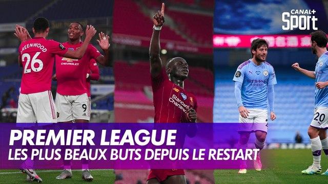 Les plus beaux buts en Premier League depuis le restart