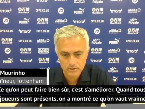 """38e j. - Mourinho : """"Sans blessés, on vaut mieux que cette 6ème place"""""""