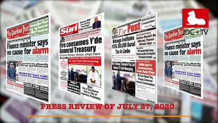 CAMEROONIAN PRESS REVIEW OF JULY 27, 2020