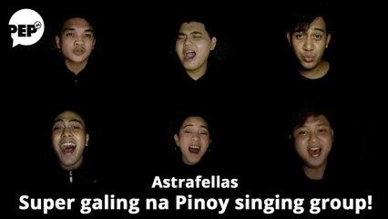 Astrafellas, ang Pinoy singing group na nag-champion abroad kahit sa aparador lang nag-record!