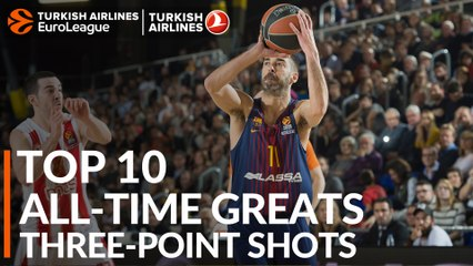 Top 10 All-Time Greats: Three-point Shots