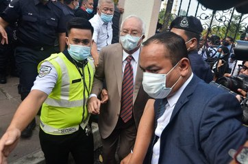 Najib arrives at court ahead of SRC verdict