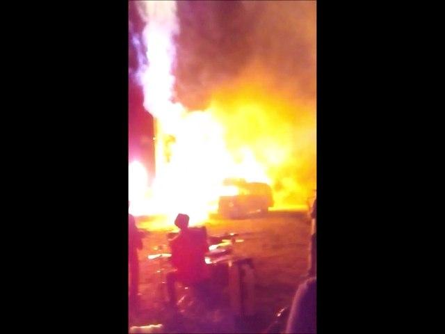Pyrotechnie et Isobloc à Vanosc