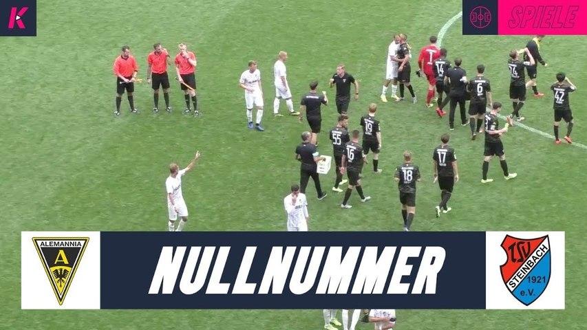 Torloses Remis | TSV Alemannia Aachen – TSV Steinbach Haiger (Testspiel)