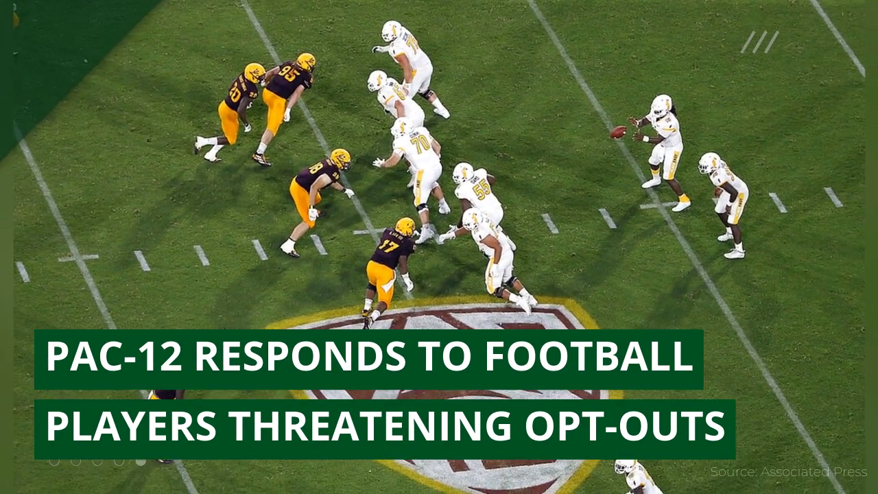 Pac-12 responds to football players threatening opt-outs, and other top stories from August 06, 2020.