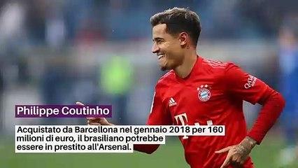 Coutinho, Aurier, M'Vila: tutte le notizie del mercato del giorno