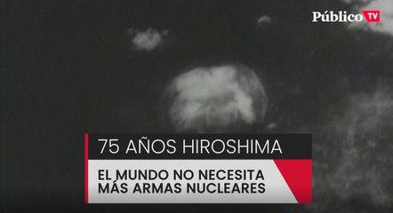 75 aniversario de Hiroshima