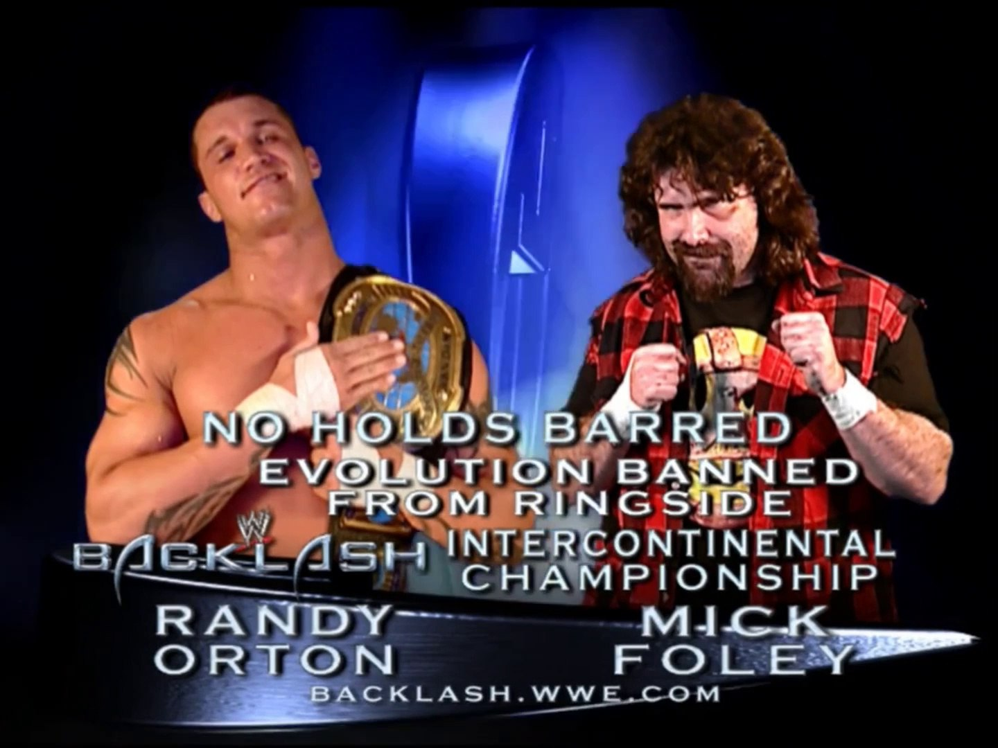 Randy Orton Vs Mick Foley Backlash 2004 Full Match - video Dailymotion