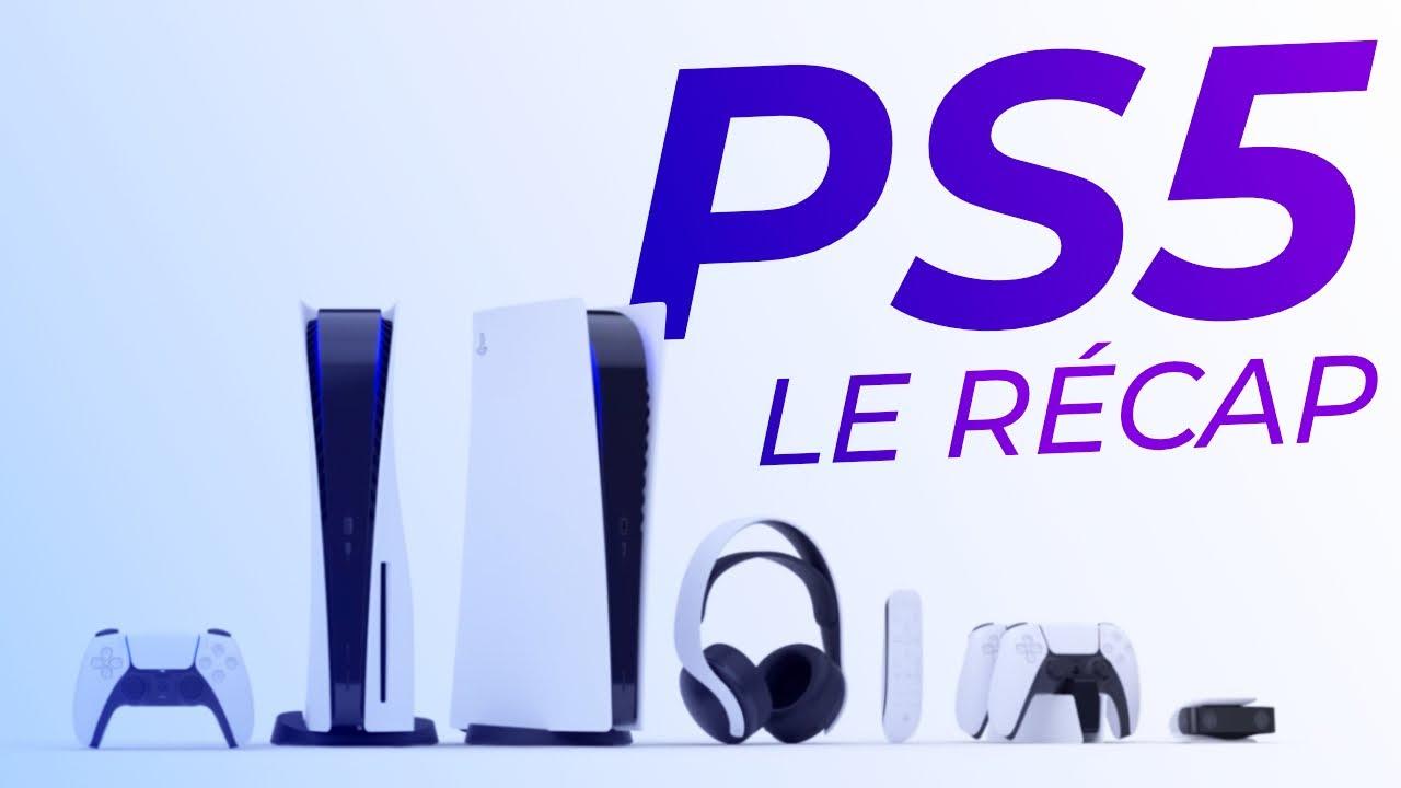 Le Design de la PS5 et ses JEUX dévoilés !