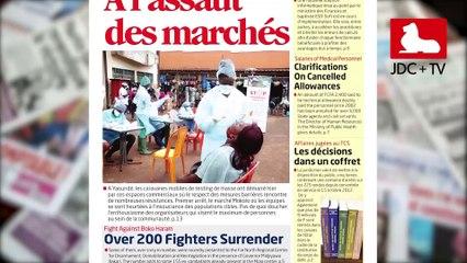 REVUE DE PRESSE CAMEROUNAISE DU 29 JUILLET 2020
