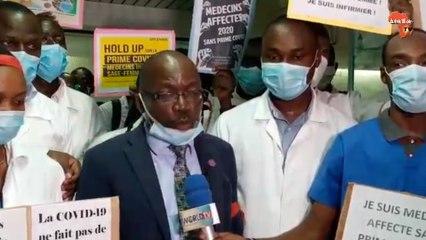 Côte d'Ivoire : covid-19, 7000 agents de santé réclament leur prime
