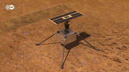 NASA Mars'a oksijen üreten mekanik ağaç ve helikopter gönderiyor