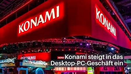 Konami steigt in das Desktop-PC-Geschäft ein