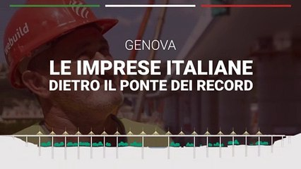Ponte di Genova, le imprese italiane che hanno contribuito alla costruzione dell'opera dei record