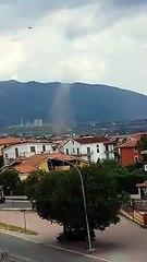 Ancora maltempo in Calabria, tromba d'aria a Castrovillari