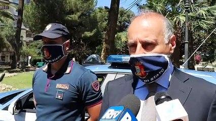 """Reggio Calabria, il Questore Vallone: """"identificati tifosi e calciatori che hanno fatto l'assembramento, verranno sanzionati"""""""