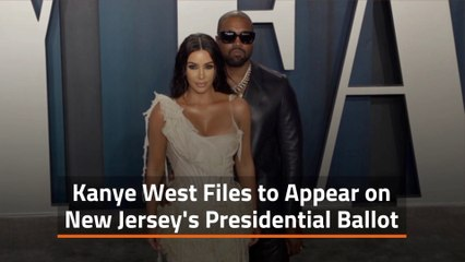 Kanye West Files In New Jersey