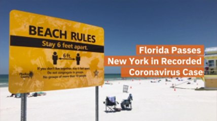 Florida Passes New York In Cases