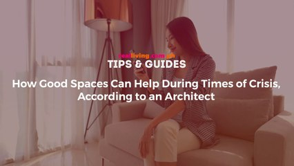 """How Creating a """"Good Space"""" Can Help a Lot During Stressful Times"""