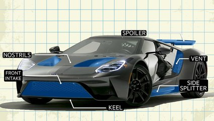 How the Ford GT was aerodynamically designed