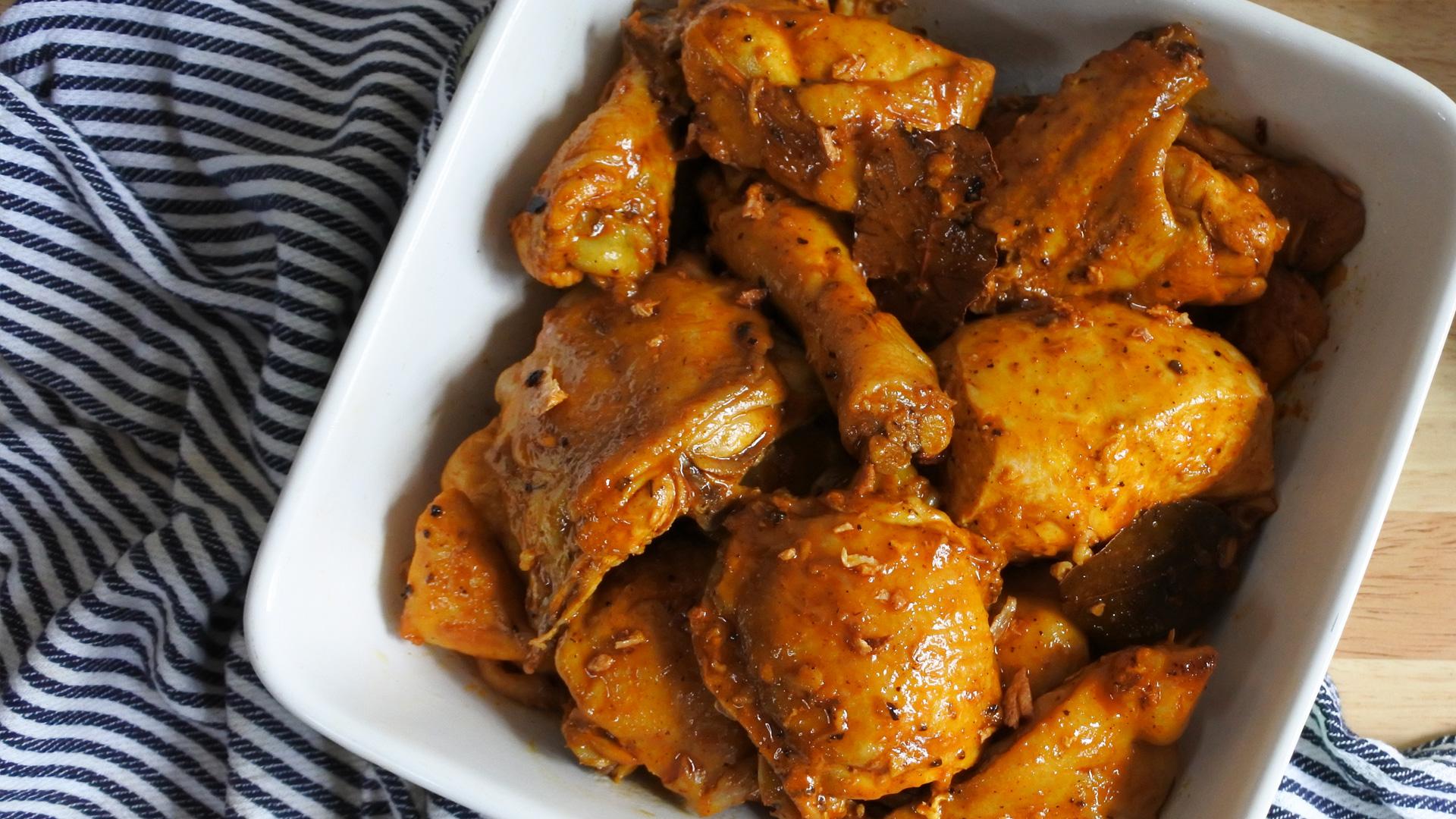 Adobong Manok na Pula Recipe | Yummy PH