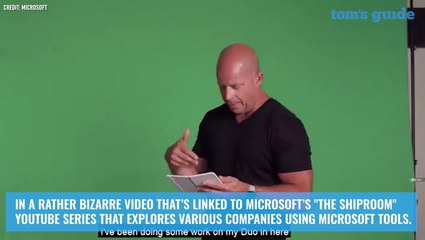 Microsoft Surface Duo caught on video — see it in action now