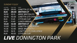 LIVE - BRITISH GT - SILVERSTONE 500 - 2020