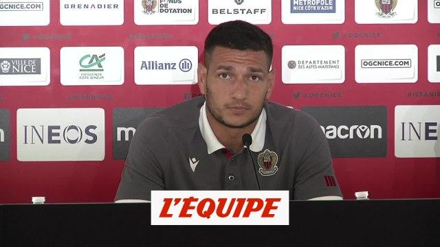 Lopes : «J'ai beaucoup appris avec Patrick Vieira» - Foot - OGC Nice
