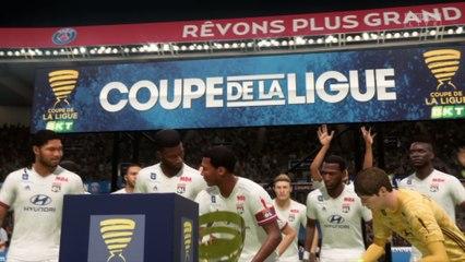 PSG - OL : notre simulation FIFA 20 (Coupe de la Ligue - finale)