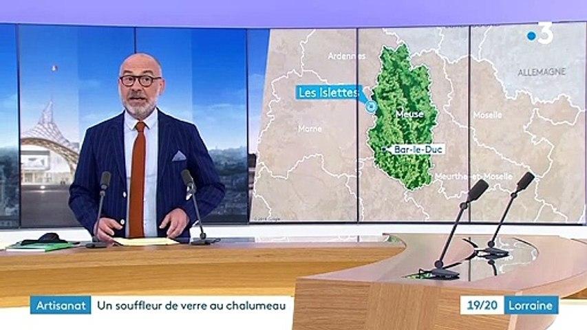 19-20 Lorraine France 3 / 26 juillet 2020 / Musée du Verre d'Argonne