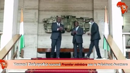 Hamed Bakayoko nommé Premier ministre par le Président Ouattara