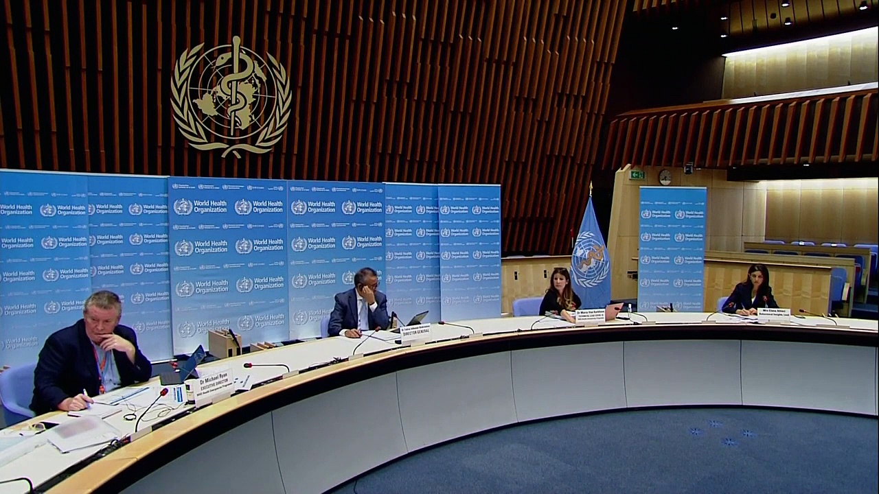 WATCH LIVE- World Health Organization holds a briefing on the coronavirus outbreak – 7_30_2020