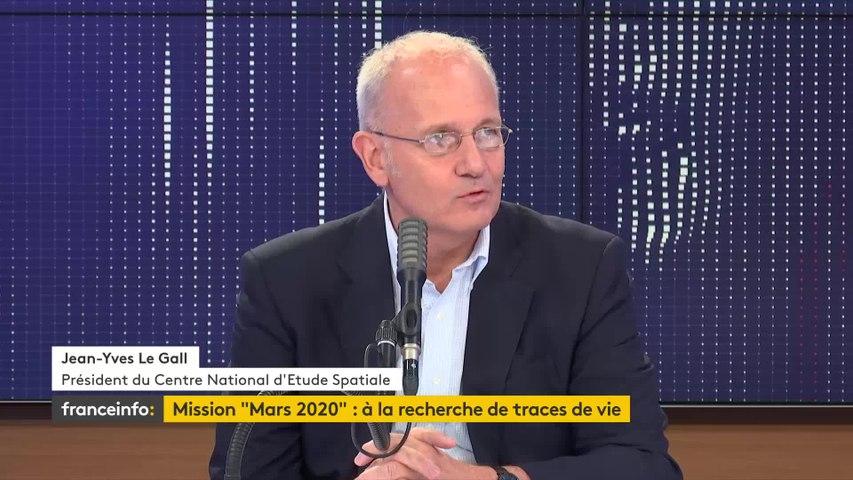 Mission Mars 2020, conquête spatiale… Le « 8h30 franceinfo » de Jean-Yves le Gall, président du Centre national d'études spatiales