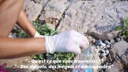 Ces Niçois ramassent les déchets sur les plages pour protéger l'environnement