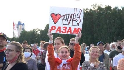 Большой митинг Тихановской в Минске - самая массовая акция протеста в истории Беларуси?