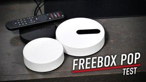 Test de la Freebox Pop, le haut débit à prix réduit.