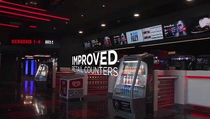 Inside the newly refurbished Cineworld Boldon