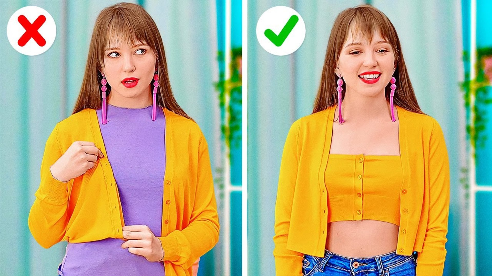 DIY Entertainment | AWESOME CLOTHES AND SHOES HACKS   Funny And Creative Tips For Your Wardrobe by 1