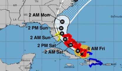 Huracán Isaías continúa su ruta hacia la Florida | El Diario en 90 segundos