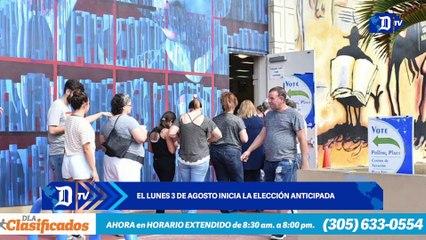 El lunes 3 de agosto inicia la elección anticipada  | El Diario, edición semanal