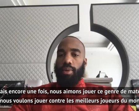"""FA Cup - Lacazette : """"C'est toujours difficile de jouer contre Kanté"""""""