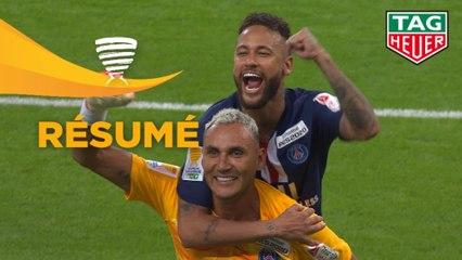 Paris Saint-Germain - Olympique Lyonnais (SCORE) - Résumé - Finale Coupe de la Ligue BKT 2020 - (PSG - OL)