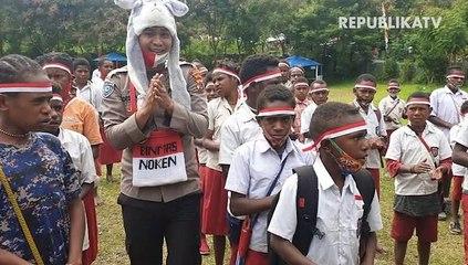 Kegiatan Binmas Noken Papua
