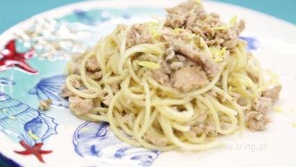 Receta në 2 minuta - Spaghetti me Ton dhe Kaperi