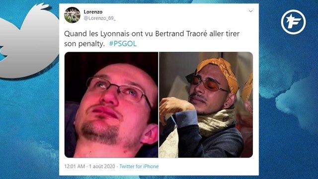 Le penalty manqué de Bertrand Traoré vu par les réseaux sociaux